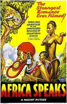 Africa Speaks - 1930 - Movie Poster
