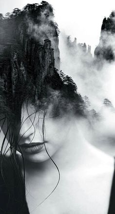 Antonio Mora is an experienced spanish creative who after an extensive career like designer and art director, finally ends in the art to give free. Multiple Exposure Photography, Dark Photography, Creative Photography, Black And White Photography, Minimalist Photography, Images Esthétiques, Experimental Photography, Surreal Art, Face Art