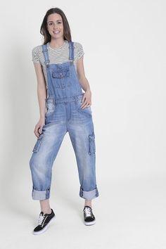 Top Fashions Women Ladies Plus Size Light Wash Denim Short Dungaree Jumpsuit Hot Pants Size 8-16