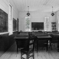 Country School Room, Iowa... c. 1950
