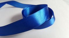 3m Satin Ribbon - 20mm - Royal Blue