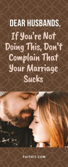 Can she lean on you when she needs help? If so, BRAVO. If not, don't complain that your marriage sucks, if you're not doing these simple things. #marriage #husbands #spouse #complaining #happywifehappylife #marriagegoals #marriageadvice #marriagetips #husbandadvice #healthymarriage #relationships #relationshipgoals
