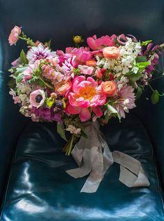 peony flower farm bouquet