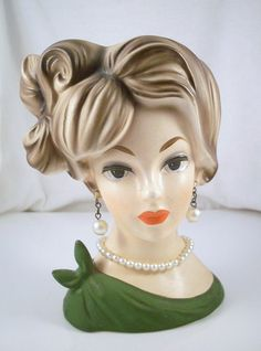 Vintage Napco Lady Head Vase C7293 (Jen has this one!)
