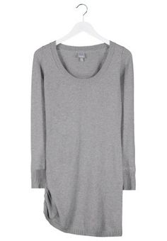 HOOKED - Robe pull - gris Bench.