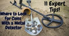 Metal Detecting Tips, Rare Coins Worth Money, Gold Prospecting, Coin Worth, Rocks And Minerals, That Look, Shovel, Interesting Stuff, Creative Ideas