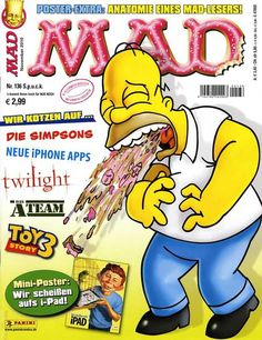 MAD #136 - Wir Kotzen auf die Simpsons