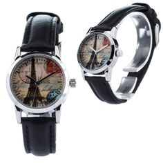 Ratings A sweet little watch with a very cheeky name (we're sorry we just couldn't resist! Indulge in a little fantasy with this beautiful timepiece that conjours up fantasies of Paris. Small Faces, Beautiful Watches, Quartz, Stamp, Unisex, Band, Wristwatches, Trending Outfits, Unique Jewelry