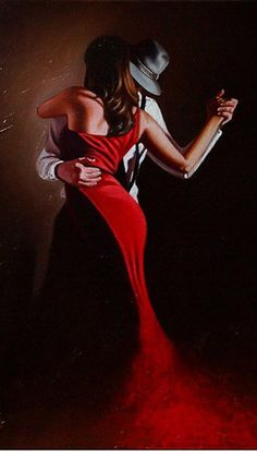 Just a cruel mirage Shall We Dance, Just Dance, Tango Art, Mode Poster, Tango Dancers, Dance Paintings, Argentine Tango, Pulp Art, Oeuvre D'art
