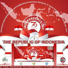 , 4 : 17 Agustus 2017 Satguru Indonesia mengucapkan Dirgahayu Republik Indonesia ke 72. Mari tetap menjaga semangat persatuan dan kesatuan bersama kita semua. Memperingati hari kemerdekaan RI, kami mengubah tampilan website www.satgurutravel.id sementara waktu bertema Merah Putih. -------------------------- Office : Kuningan City - Level 2 / 18  Jl. Prof. Dr. Satrio Kav.18 Jakarta.  Check our bio for details.  IG: @satgurutravel.id  FB: fb.com/satgurutravelsid ☎ 021-50101526…