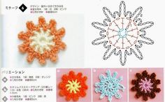 crochelinhasagulhas: crochet fiori
