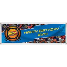 Nerf Personalized Banner