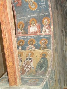133 Tempera, Fresco, Mural Painting, Paintings, Church Icon, Church Interior, Medieval Art, Color Pallets, Prayers