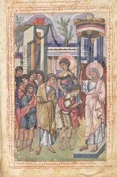 Illuminated Manuscript, Byzantine, New Art, Fashion Art, Vintage World Maps, Miniatures, History, Art Styles, Painting
