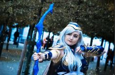 Entry #059: Lauren Haskell  Character: Ashe the Frost Archer, from League of Legends Cosplayer page: Belanyan cosplays Photographer: Harry Street Photography  Vote for this entry by liking, commenting, and sharing this post! Contest Details: https://www.facebook.com/MiccostumesCosplayShop/posts/996975130341783