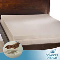 @Overstock - Treat yourself or your guests to a perfect nights rest with this three-inch memory foam mattress topper. Designed to eliminate pressure points and give any mattress a luxurious feel, this thick mattress pad is hypoallergenic and antimicrobial.http://www.overstock.com/Bedding-Bath/Comfort-Dreams-Ultra-Soft-3-inch-Queen-King-size-Memory-Foam-Mattress-Topper/3684135/product.html?CID=214117 $129.99