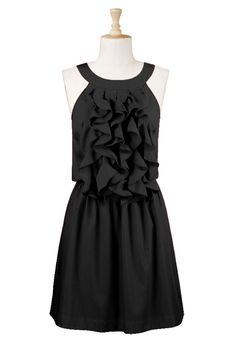I love little black dresses, casual or fancy