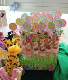 Jungle Candy Buffet by Violeta Glace