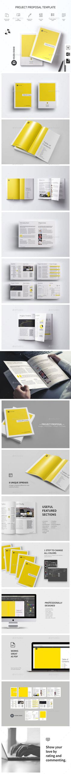 Project Proposal Template   Proposal Templates Project