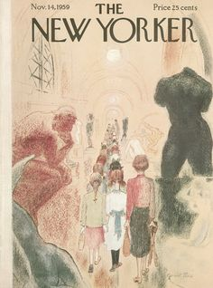 The New Yorker - Saturday, November 14, 1959 - Issue # 1813 - Vol. 35 - N° 39 - Cover by : Garrett Price
