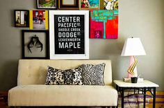 10 #DIY Art Walls que puedes hacer tu mism@