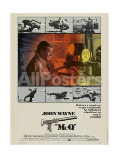 MCQ Movies Art Print - 46 x 61 cm