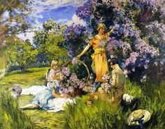 Mathias J. Alten (1871–1938): Lilas.