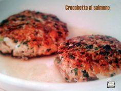 Crocchette al salmone un secondo piatto di pesce facile e veloce da preparare.