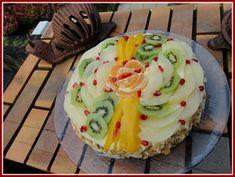 DESSERT Génoise crème pâtissière et fruits frais