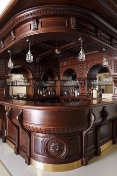 38 The Best Home Bar Designs Ideas - Picking the best basement bar idea from a long list of possibilities can be a daunting task. It will be confusing if you have absolutely no idea what . Basement Bar Designs, Home Bar Designs, Basement Ideas, Basement Plans, Basement Stairs, Diy Home Bar, Bars For Home, Small Basements, Basement Renovations