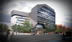 UniSA, Wardel, Hindley Street Adelaide South Australia, Multi Story Building, Base, Street, City, Cities, Walkway