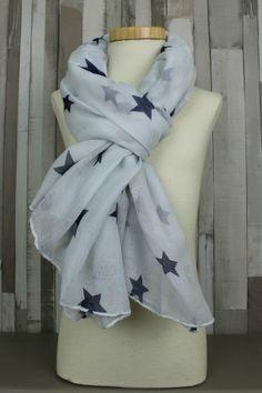 shawl twinkle blue