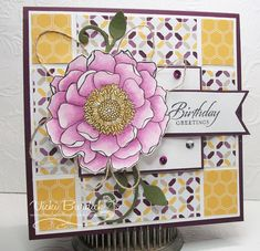 Blended Birthday Wishes by justcrazy - Cards and Paper Crafts at Splitcoaststampers