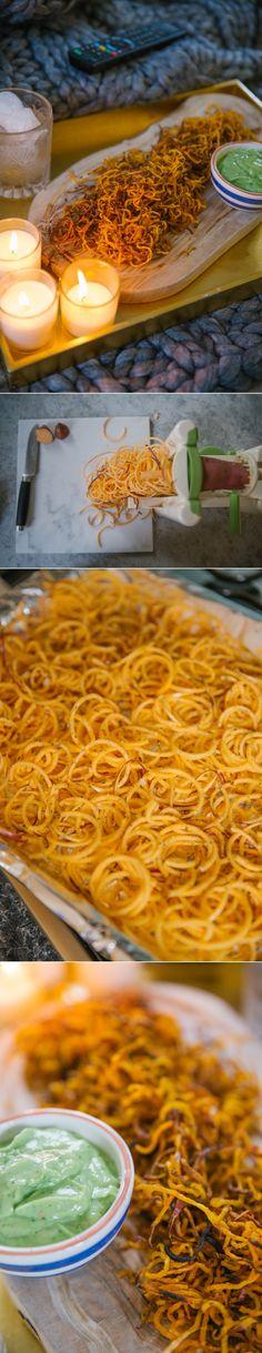 Haystack Sweet Potato Chips + Creamy Avocado Dip - The Londoner