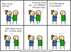 As a girl with G cups, this is how my relationship feels sometimes. - Imgur
