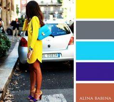Colores cálidos yelegantes