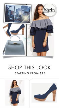 """""""SheIn V-2"""" by melisa-hasic ❤ liked on Polyvore"""