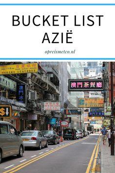 Azië is een continent dat ik tot nu toe amper heb bezocht. Toch zijn er veel plekken in Azië die ik graag eens wil bezoeken. Dit is mijn bucket list Azië.