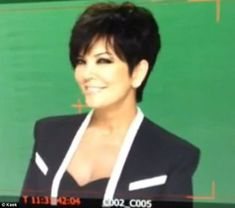 Kris Jenner Haircut Picture Back