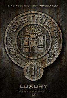 District 1 Seal #hunger #games