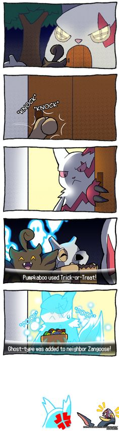 Pokemon - Trick-or-Treat by Dragonith.deviantart.com on @DeviantArt