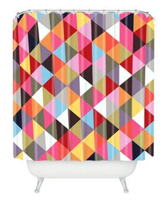 Look what I found on #zulily! Three of the Possessed Triangles Shower Curtain #zulilyfinds
