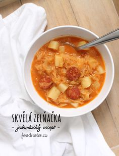 Czech Recipes, Cheeseburger Chowder, Czech Food, Cooking, Health, Soups, Kitchen, Health Care, Soup