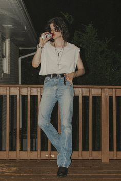Cool Outfits, Casual Outfits, Fashion Outfits, Mode Queer, 70s Fashion Men, Looks Teen, Style Masculin, Mode Ootd, Look Man