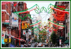 Little Italy, Manhattan ~ Must try Italian food on a visit to New York City!
