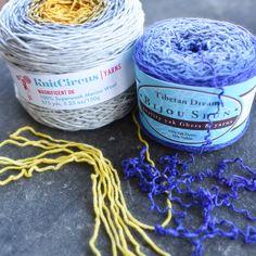 Prepping caked yarn | Pantsville Press