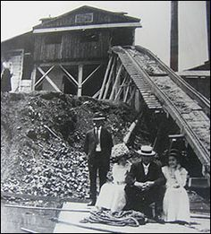 Riverside Brick Yard with owners and their ladies--Oscar Morris and Mercer Morris circa Pell City Alabama, Brick Yard, Spaces, History, Sweet, Travel, Candy, Viajes, Traveling