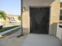 single car garage doors. Panoramalite Pull Down Retractable Screen For A Single Car Garage Door! Home In Rancho Doors .