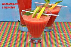Watermelon lemonade , How to make watermelon Lemonade, Watermelon Juice Watermelon Lemonade taste so good and best for summer. People who read my blog know my love for juices, especially WATERMELON. I can literally live my life just sipping this drink whole day. I love watermelon so much. It not only cools your body but  …  Continue reading → The post Watermelon Lemonade appeared first on Redchillycurry.