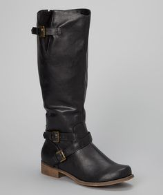 Take a look at this Black Lambert 02 Boot on zulily today!